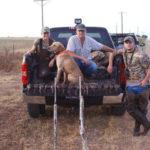 Duck hunting texas